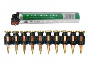 Gwoździe 2,6x15mm 1000szt. + gaz do NT65GS/GB NC40G