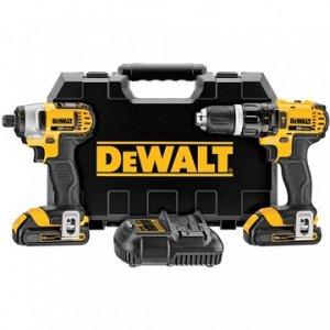 DeWalt DCK285C2 Zestaw narzędzi DCD785 + DCF885+ 2x akum. + ładowarka + walizka
