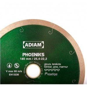 Adiam tarcza diamentowa PHOENIKS Ø200mm x 25,4mm