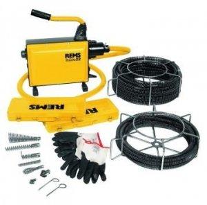 REMS Cobra 22 Set 22 Elektryczna maszyna do czyszczenia rur