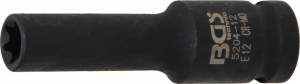 BGS Nasadka 1/2 udarowa Torx E12x 78mm