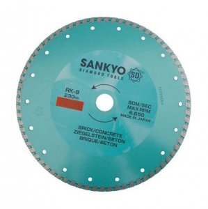 Tarcza diamentowa 115 mm do cięcia ceramiki kamienia RK-4.5 ciągła 115 x 2,0 x 6 x 22.2mm