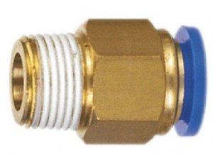 ADLER Końcówka AUTO pneumatyka 1/8z -8mm