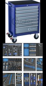 Condor Wózek narzędziowy 7 szuflad + 294 narzędzia