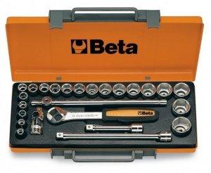 Beta 920B/C20 Zestaw nasadek 1/2 z wyposażeniem 25szt