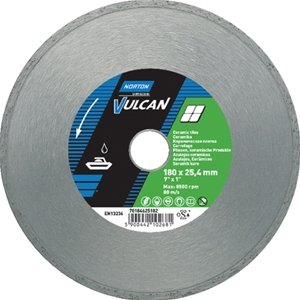 NORTON Tracza diamentowa beton 180x25,4mm VULCAN TILE