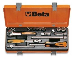 Beta 900MB/C19 Zestaw nasadek 1/4+ akcesoria 19szt.