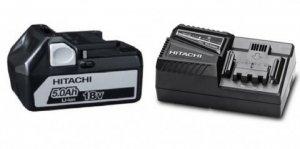 Hitachi/Hikoki Ładowarka 14,4V i 18V + akumulator 18V 5Ah