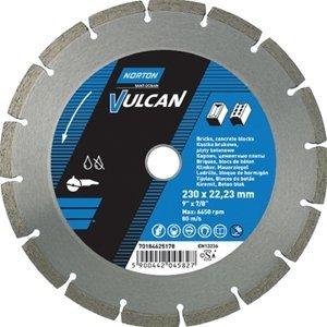 NORTON Tracza diamentowa beton 180x22,23mm VULCAN UNI