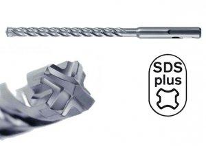 HIKOKI Wiertło udarowe 10x260mm SDS Plus 4-spiralne 4-ostrzowe
