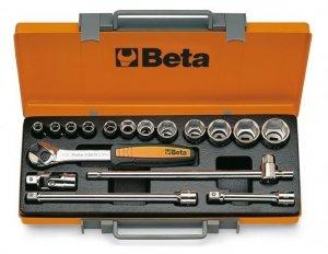 Beta 920A/C12X Zestaw nasadek 1/2 z wyposażeniem 17szt