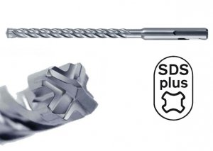 HIKOKI Wiertło udarowe 6x160mm SDS Plus 4-spiralne 4-ostrzowe