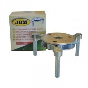 JBM Klucz nastawny 95-165mm do filtrów oleju XX