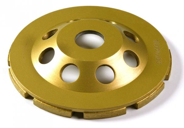 Tarcza diamentowa 125mm do szlifowania betonu CW125HG-E7 dwurzędowa 125 x 4,5 x 7 x M14mm