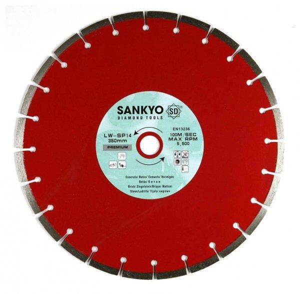 Tarcza diamentowa 180 mm do cięcia cegły betonu LW-SP7 segm. 180 x 2,6 x 10,0 x 22,2mm