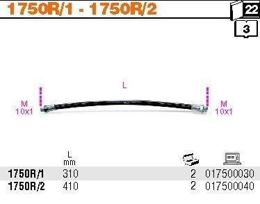 Beta 1750R/1 Rurka giętka z nylonu L 300mm do 1750