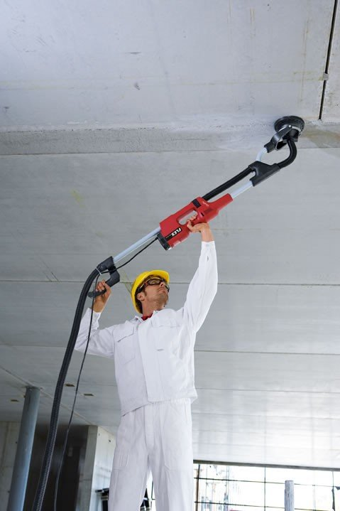Szlifierka renowacyjna FLEX WST 1000 FV do ścian i sufitów Giraffe® (350.923)