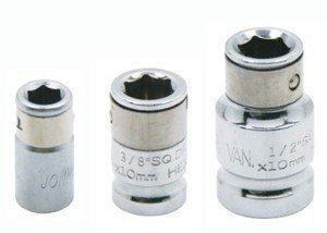 """JONNESWAY Adapter Uchwyt 1/2"""" do bitów 6-kątnych 10mm S44H4210"""
