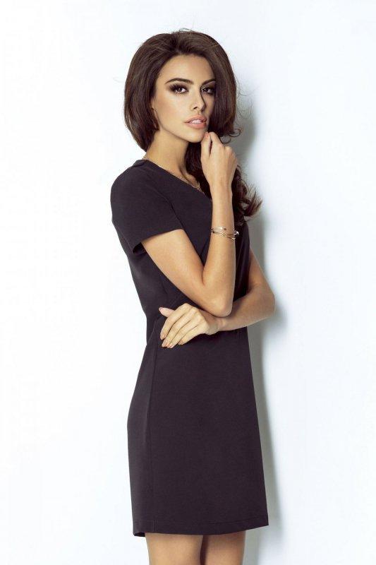 Elegancka Sukienka Matilda - czarny