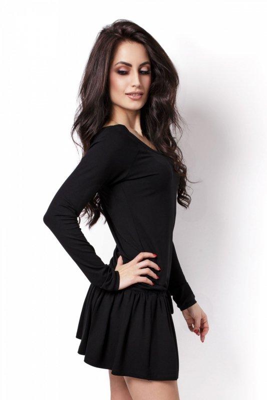 Sportowa Sukienka Agnes - czarny
