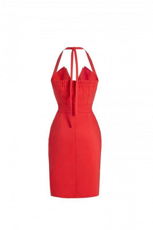 Sukienka Niki - czerwony