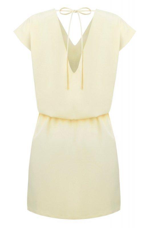 Sukienka Lena - żółty