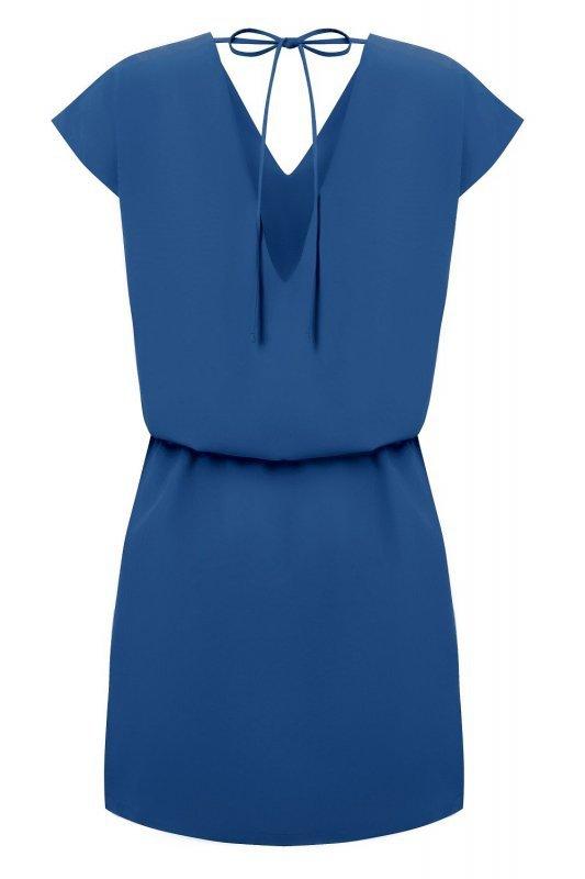 Sukienka Lena - niebieski