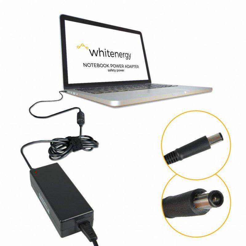 Whitenergy Zasilacz 19V | 4.74A 90W wtyk 7.4*5.0 mm + pin HP Compaq (05867)