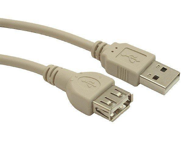 Gembird Przedłuzacz USB 2.0 typu AM-AF 0.75m szary