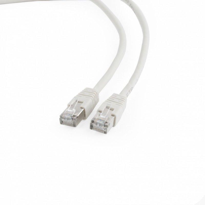 Gembird Patch cord ekranowany FTP kat.6 osłonka zal. 1M szary