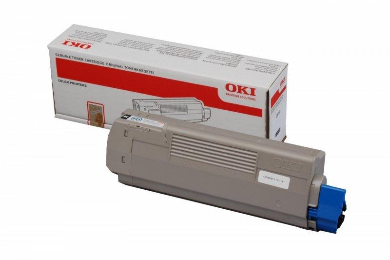 OKI Toner BLACK 8k  do C610/N/DN/DTN   44315308