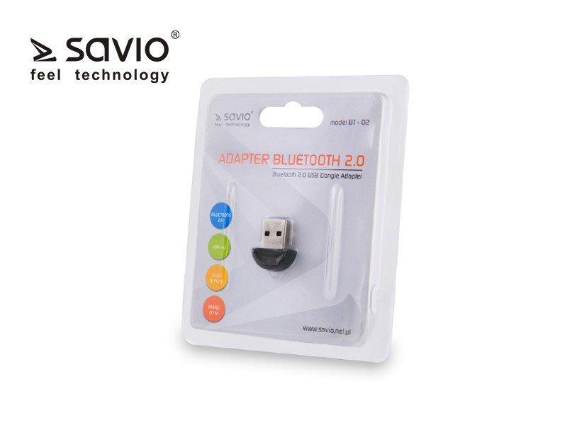 Elmak Micro Adapter USB Bluetooth v2.0 (3 Mb/s) SAVIO BT-02