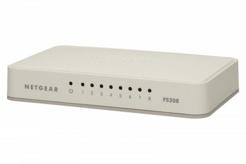 Netgear Switch Unmanaged 8xFE - FS208