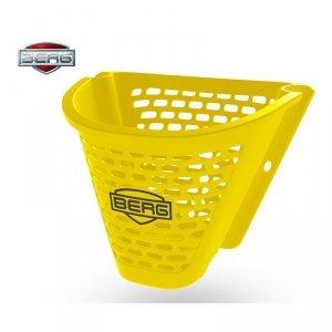 BERG Koszyk Kosz na Kierownicę Buzzy Żółty