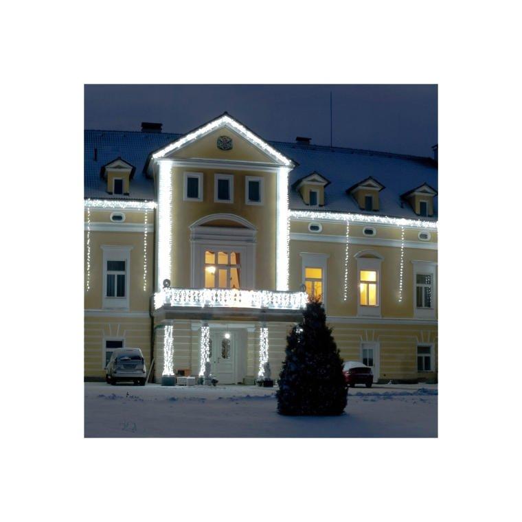 KURTYNA SIATKA ŚWIETLNA 200 LAMPEK BIAŁYCH