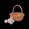 Koszyczek Wielkanocny (okrągły) - sklep z wiklina - zdjęcie