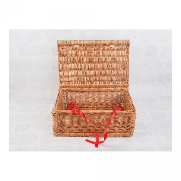 Kuferek - Szampanówka (Naturalna/Wstążka/40cm) - sklep z wiklina - zdjęcie 1