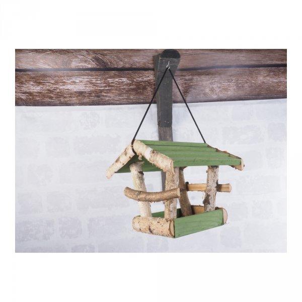 Karmnik dla ptaków (Brzoza/Kolor/Średni) - sklep z wiklina - zdjęcie 2