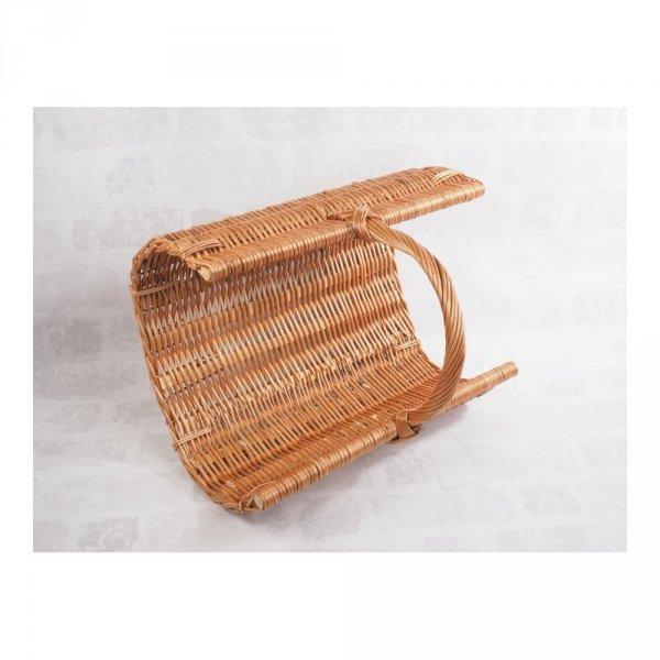 Kosz na drewno do kominka (listwa/60cm) - sklep z wiklina - zdjęcie 3