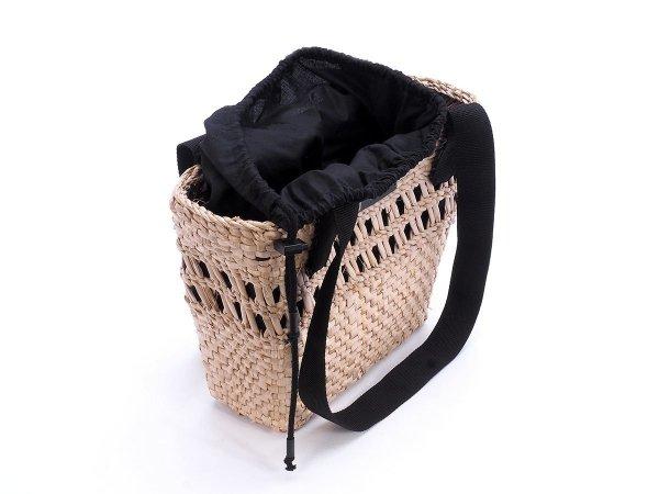 Kosz - torba plażowa (Rafia/Wkład) - Sklep z wiklina - zdjęcie 1