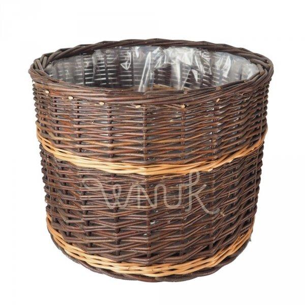 Donica (Prosta/45 cm) - sklep z wiklina - zdjęcie