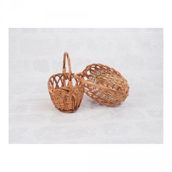 Koszyczek Wielkanocny (ażurek) - sklep z wiklina - zdjęcie 2