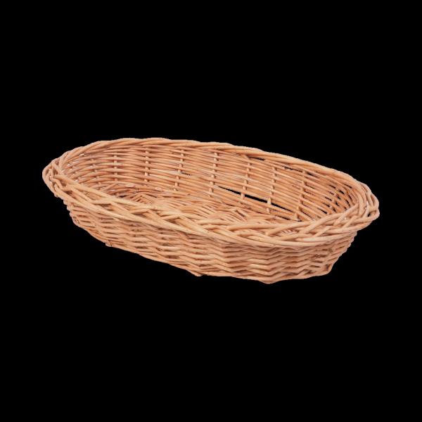 Tacka pełnopleciona (Owalna/30cm) - sklep z wiklina - zdjęcie