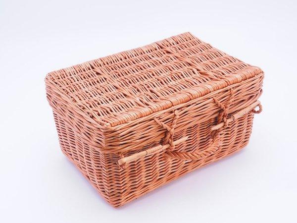 Kosz - kufer piknikowy 48cm - Sklep z wiklina - zdjęcie 1