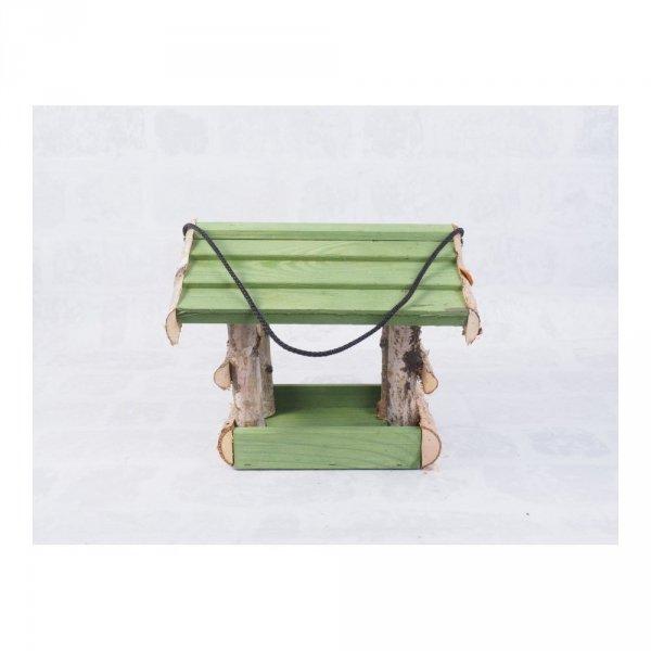Karmnik dla ptaków (Brzoza/Kolor/Średni) - sklep z wiklina - zdjęcie 4