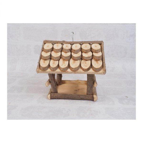 Karmnik dla ptaków (Łuska/Średni) - sklep z wiklina - zdjęcie 2