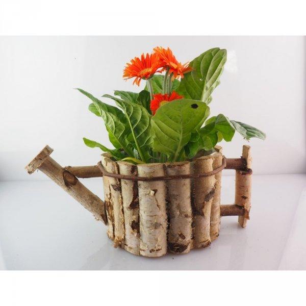 Donica brzozowa (konewka) - sklep z wiklina - zdjęcie - 2