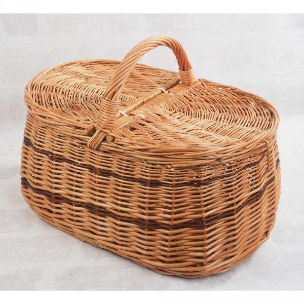 Kosz piknikowy (wzór 6) - sklep z wiklina - zdjęcie 1