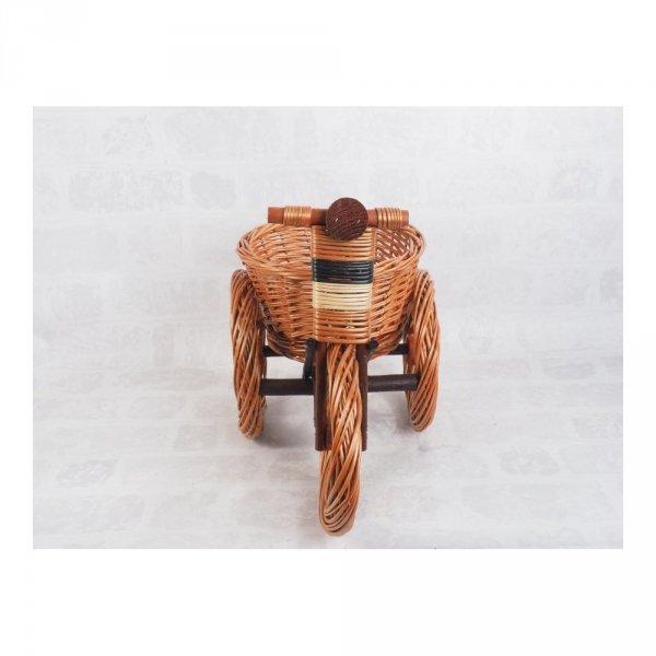 Osłonka na doniczke (Rower/Duży) - Sklep z wiklina - zdjęcie 1