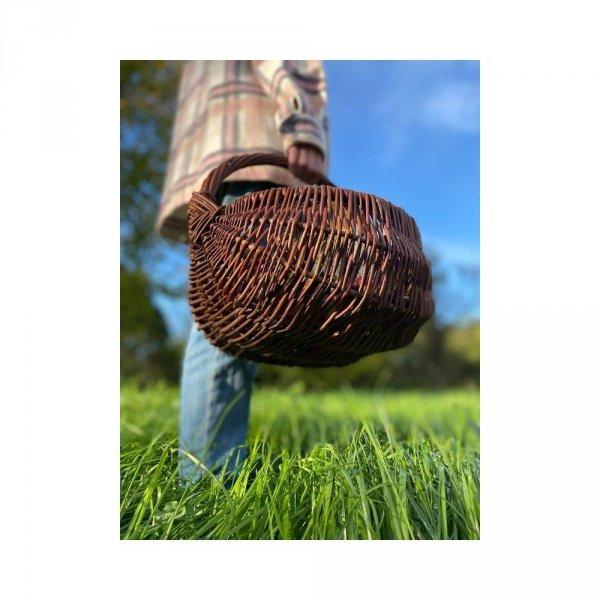 koszyk gospodarczy (baniak/35cm) sklep z wiklina - zdjęcie 2